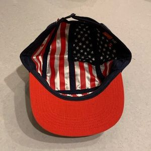 USA National Soccer Team Hat - American Flag Lined